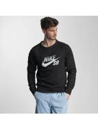 Icon Top Sweatshirt Blac...