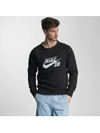 Nike SB Pullover Icon Top schwarz