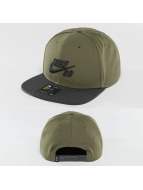 Nike SB snapback cap Icon olijfgroen