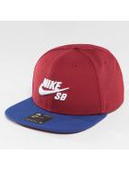Nike SB Snapback Caps Icon czerwony