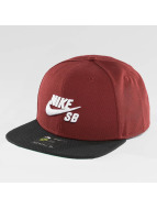 Nike SB Snapback Caps SB Icon czerwony
