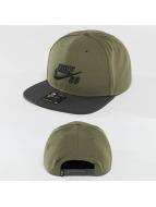 Nike SB Snapback Caps Icon oliwkowy