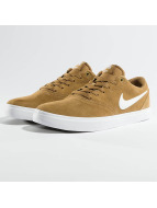 Nike SB Sneakers Check Solarsoft Skateboarding brun