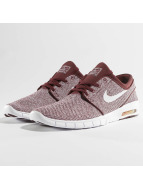 Nike SB Stefan Janoski Max Sneakers Dark Team Red/White/Circiut Orange
