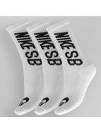 Nike SB Sokken SB Crew 3-Pack wit