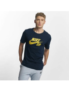 Nike SB T-Shirt Logo blau