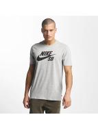 Nike SB t-shirt SB Logo grijs