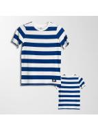 Nike SB Boys T-Shirt White/Deep Royal Blue