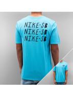 Nike SB T-Shirts Repeat turkuaz