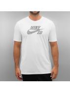 Nike SB T-skjorter Icon Dots hvit