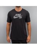 Nike SB T-skjorter Icon Dots svart