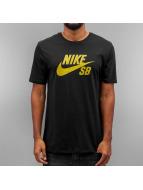Nike SB T-skjorter Logo svart