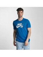 Nike SB Tričká Logo modrá