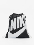 Nike Heritage Gym Sack Black/White/White