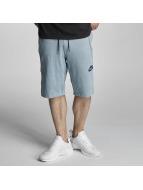 Nike Shortlar NSW AV15 FLC Shorts Mica mavi