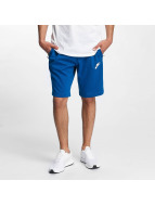 Nike shorts AV15 Fleece blauw