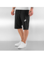 Nike Shortsit NSW AV15 FLC musta