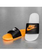 Nike Slippers/Sandalen Benassi JDI Mismatch zwart