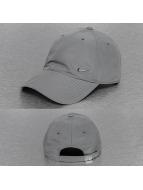 Nike Snapback Cap Metal Swoosh grau
