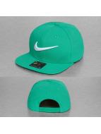 Nike Snapback Cap Swoosh Pro grün