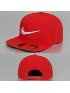 Nike Snapback Cap Swoosh Pro rot