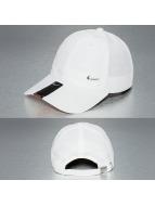 Nike Snapback Caps Metal Swoosh hvit