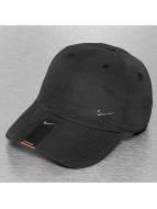 Nike Snapback Caps Metal Swoosh musta