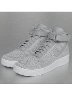 Nike Sneaker Air Force 1 Flyknit grau
