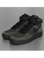 Nike sneaker Air Force 1 Flyknit olijfgroen