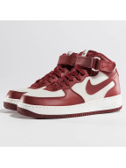 Nike Sneaker Air Force 1 Mid 07 rot