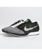 Nike Sneaker Flyknit Racer Running schwarz