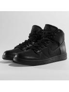 Nike Sneaker SB Dunk Hi Pro Bota schwarz