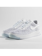 Nike Air Force 1 Flyknit Low Sneakers White/White/Black