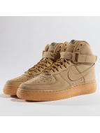 Nike Sneakers Air Force 1 High WB hnedá