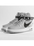 Nike Sneakers Air Force 1 High 07 silver colored