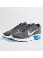 Nike Air Max Sequent 2 Sneakers Dark Grey/Metallic Silver_Colored/Black/Stealth