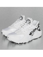 Nike Women's Air Huarache Run SE Sneakers White/Black/White/Black
