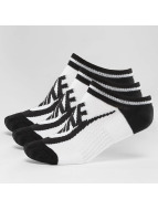 Nike Sokken Striped No-Show wit