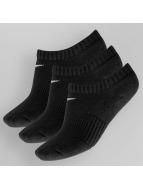 Nike Sokken Cotton Cushion No-Show 3-Pack zwart