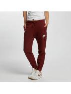 Nike Spodnie do joggingu AV15 czerwony
