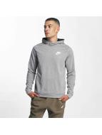 Nike AV15 Fleece Hoody Dark Grey Heather/Black/Black/White