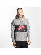 Nike Air NSW Hoody Carbon Heather/Anthracite/Siren Red