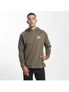 Nike AV15 Fleece Hoody Medium Olive/Black/Black/White