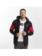 Nike NSW Air Zip Hoody Black/University Red/Cool Grey