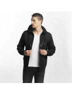 Nike NSW Fleece Hybrid Zip Hoody Black/Black/Black