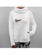 Nike Sweat à capuche Sportswear Rally blanc