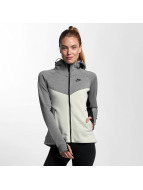 Nike Sweat à capuche Tech Fleece blanc