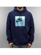Nike Sweat à capuche NSW PO FLC Air Hrtg bleu