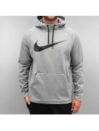 Nike Sweat à capuche Therma Training gris