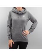 Nike Sweat à capuche Sportswear Funnel-Neck gris